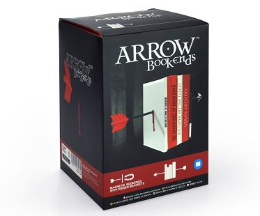 arrow bookends box