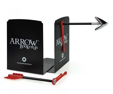 arrow bookends magnetic