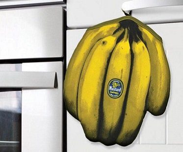 bananas oven mitt