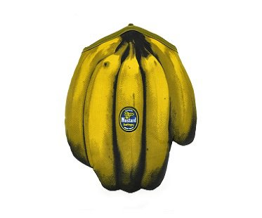 bananas oven mitt glove