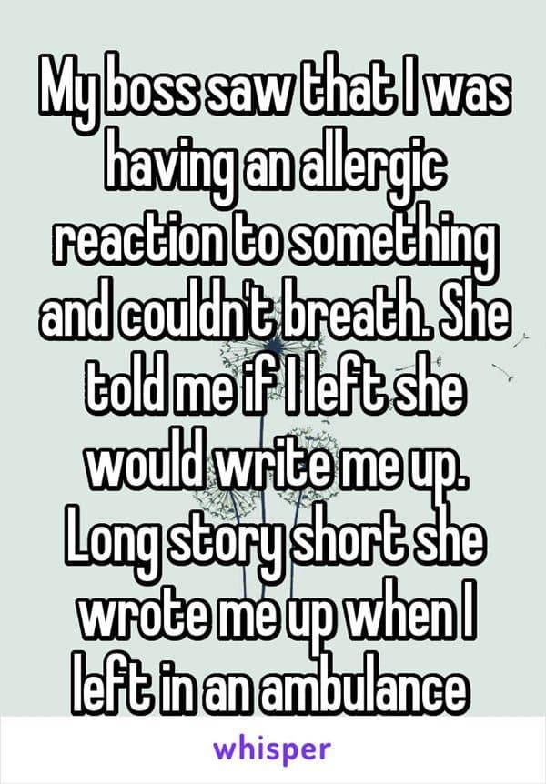 boss-horror-stories-allergic