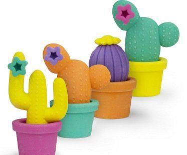 cactus erasers