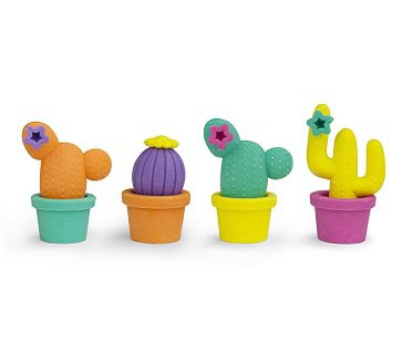 cactus erasers rubbers