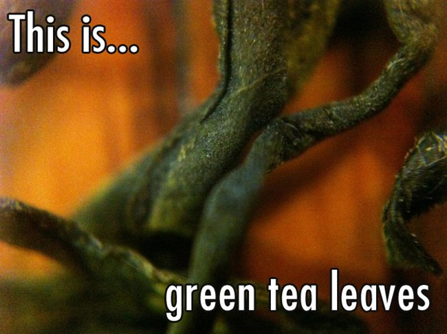 close-up-green-tea