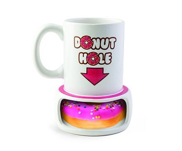 donut hole mug coffee