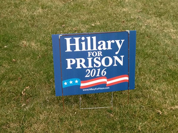 Funny Backyard Signs : funnypresidentialyardsignsprison