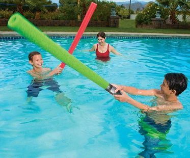 lightsaber pool noodle