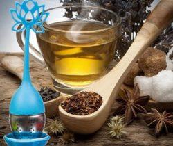 lotus flower tea infuser