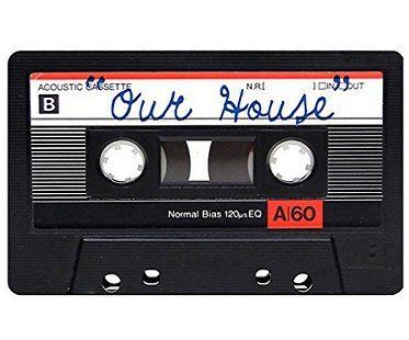 our house cassette tape doormat