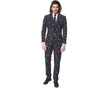 pac-man suit men