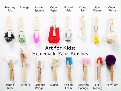 parenting-hacks-paint-brushes