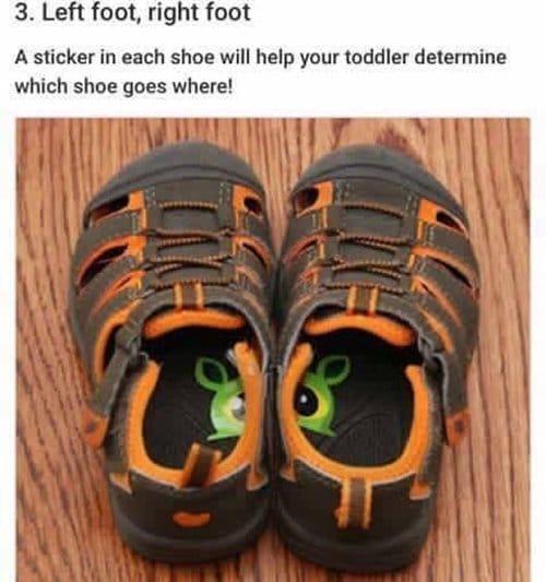 parenting-hacks-shoes