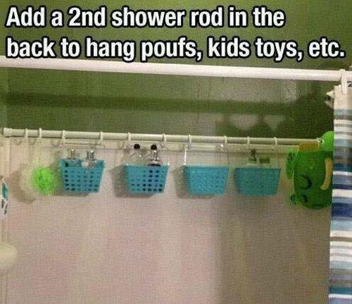 parenting-hacks-shower