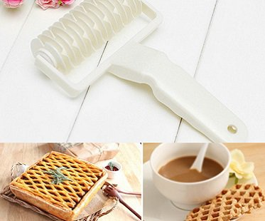 pie pastry lattice cutter gadget