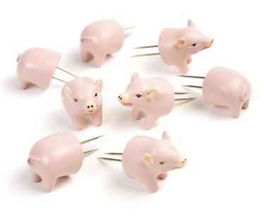 pig corn holders cob
