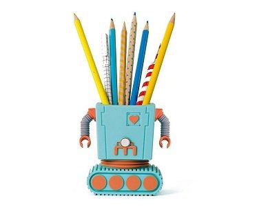 robot pen holder pencils
