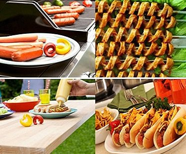 spiral hot dog slicer grill