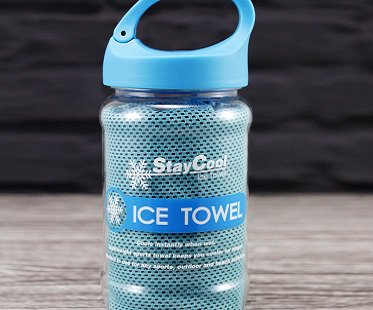 stay cool towel ice