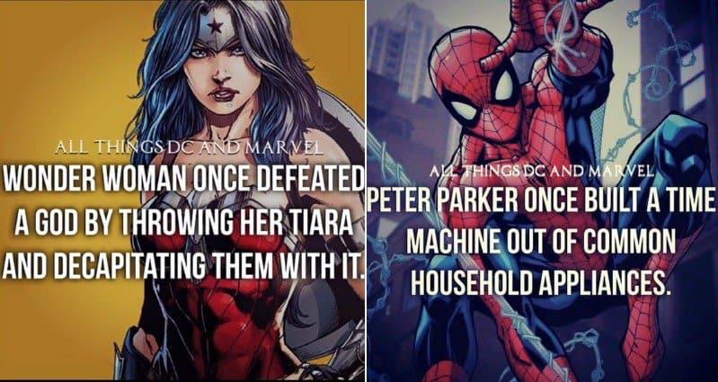 superhero facts part 1