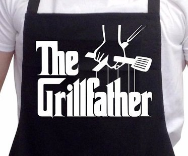 the grillfather apron cooking
