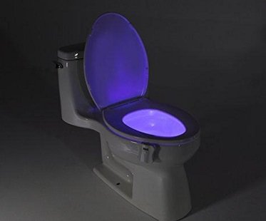 toilet night light motion activated colours