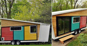 140 Square Foot Home On Wheels