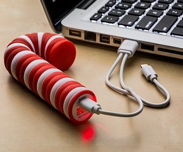 Candy Cane iPhone Charger