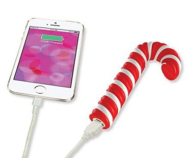 Candy Cane iPhone Charger power