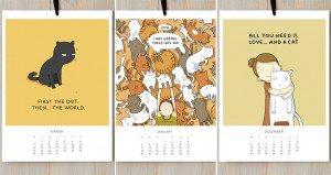 Cat Calendar Lingvistov
