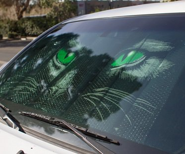 Cat Eyes Sunshade green