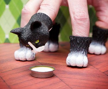 Cat Finger Puppets