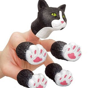 Cat Finger Puppets kitty