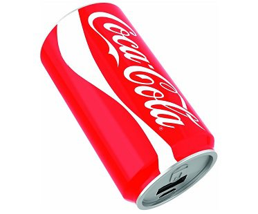 Coca-Cola Can Mobile Charger battery