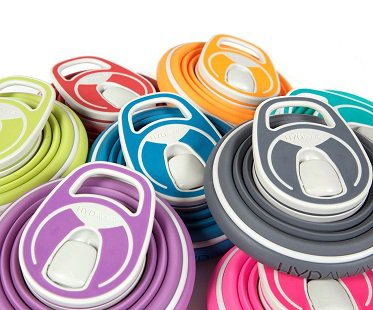 Collapsible Water Bottle colours