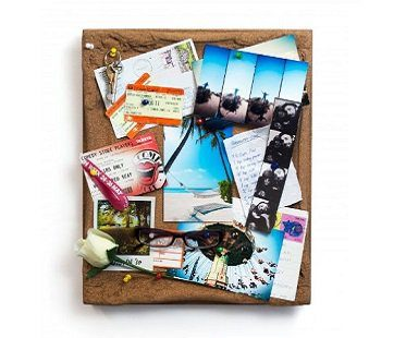 Cork Board Picture Frame
