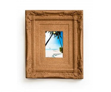 Cork Board Picture Frame memo