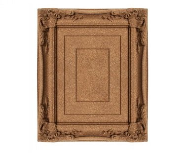 Cork Board Picture Frame pin