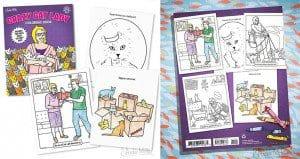 Crazy Cat Ladies Coloring Book