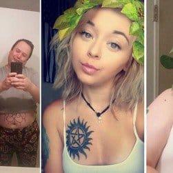 Dad Recreating Daughter's Selfies