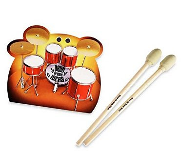 Desktop Drums Stationery Set notepad