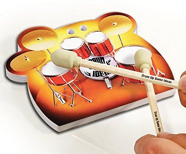 Desktop Drums Stationery Set