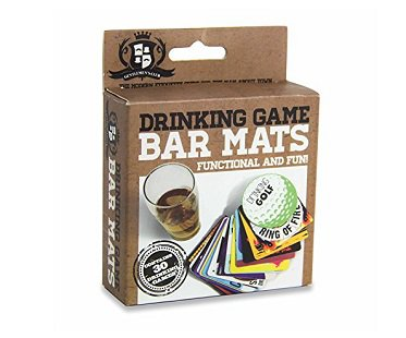 Drinking Game Bar Mats box