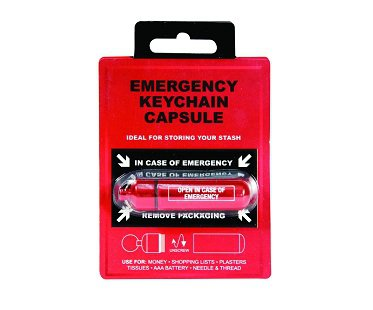Emergency Keychain Capsule pack