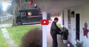 Family Caught Mailman Dancing