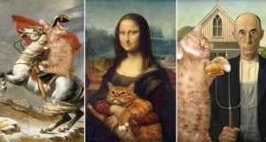 Fat Ginger Cat Famous Paintings