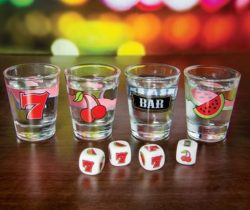 Fruit Machine Shot Glasses
