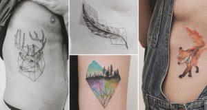 Geometric Tattoos Nature