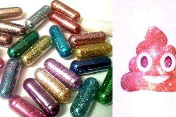 Glitter Pills Poop Sparkle