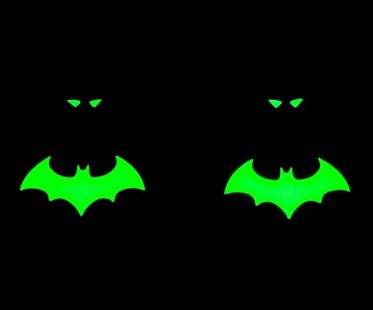 Glow in the Dark Batman Cufflinks dc comics