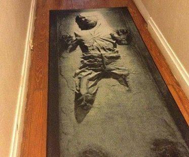 Han Solo Carpet Runner rug
